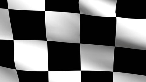 Checkered Racing Flag Loop