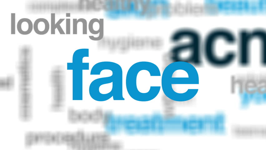 Acne animated word cloud, text design animation. | Shutterstock HD Video #29083069