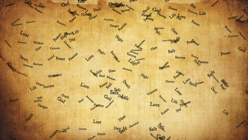 Small cartoon sailing ship moves on the vintage grunge world map old styled motivational words on old brown paper high quality animation seamless loop gumiabroncs Image collections