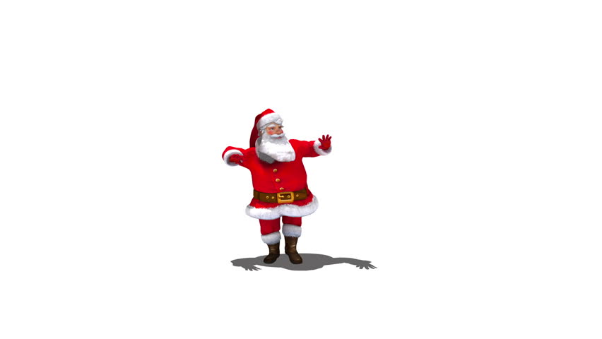 Santa Dancing Version 3. Comes with Alpha.