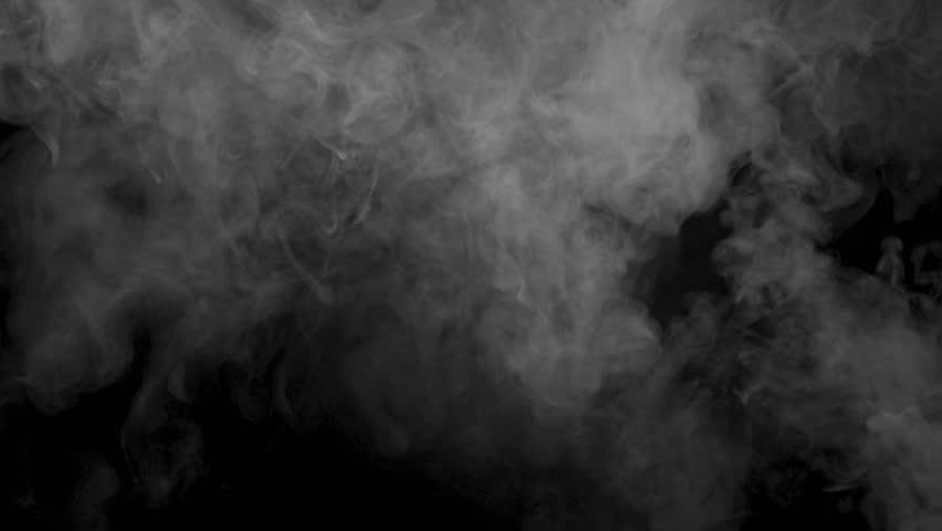 Smoky cloud of vape cigarette