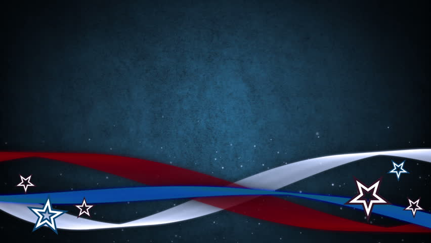 red white and blue abstract background with stars stock