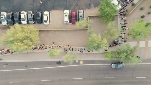 Sold Out Event Line Out The Door Aerial_1