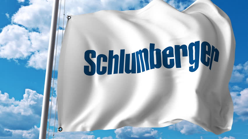 Waving Flag with Schlumberger Logo  Stock Footage Video (100% Royalty-free)  29434099 | Shutterstock