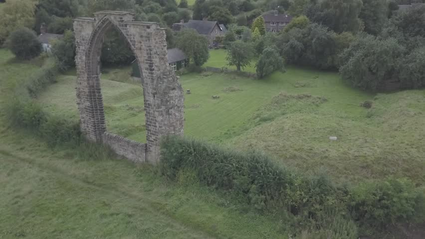 Dale Abbey Aerial