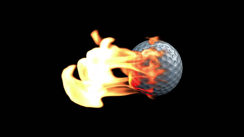 GolfBall on Fire