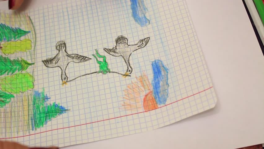 3d Drawing On Lined Paper : Friends on the beach and in park scenes set with isometric people