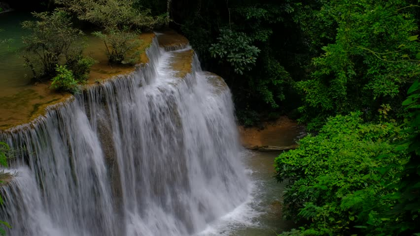 The Most Beautiful Waterfall In Thailand With Friends