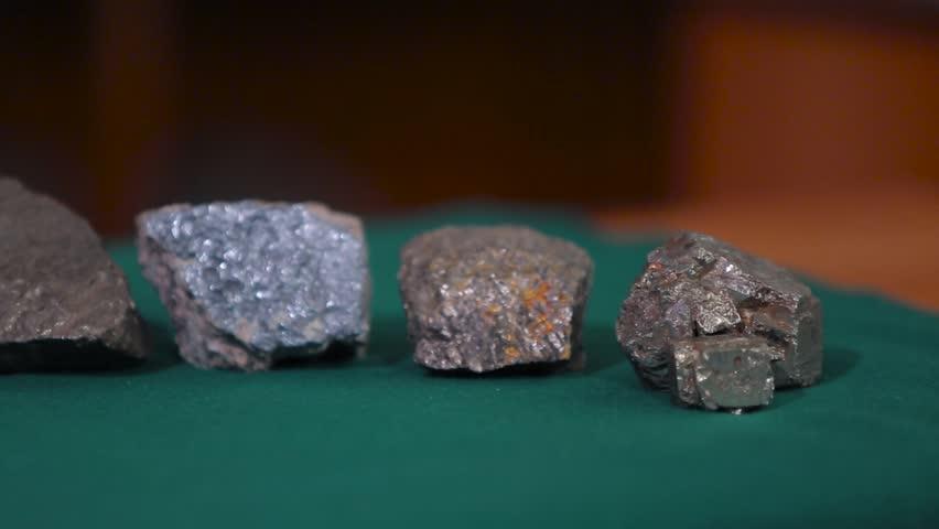 Header of mineralogical