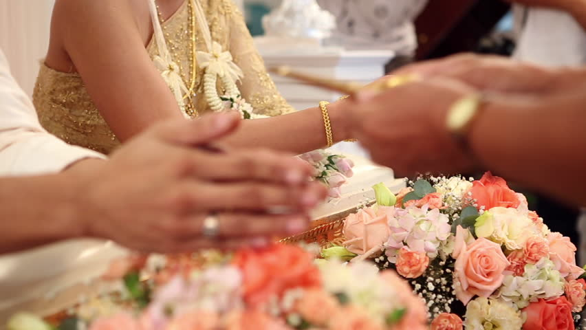 Thai Wedding Ceremony And Decoration