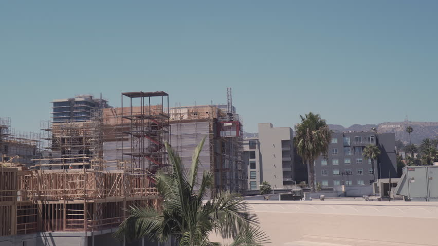 Construction in Hollywood, California | Shutterstock HD Video #30029569