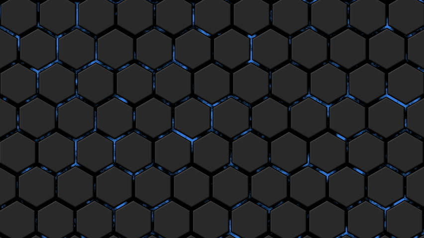 Moving Dark Spheres In Hexagon Network Loop Ready