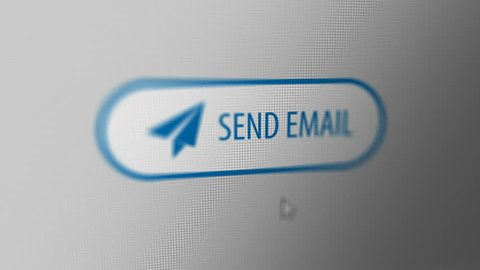 "Close up Shot of Mouse Cursor Clicking ""SEND EMAIL"" Button."