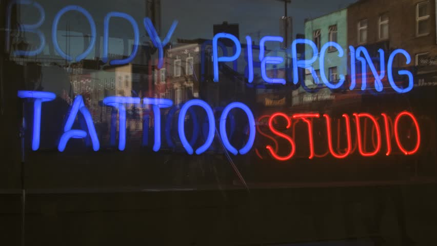 Tattoo Signage Stock Video Footage - 4K and HD Video Clips | Shutterstock