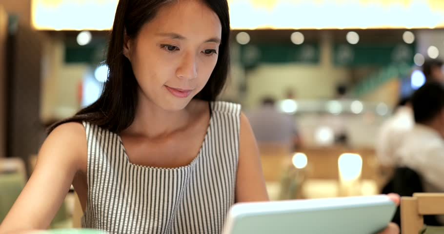 Woman ordering dishes in Japanese restaurant  | Shutterstock HD Video #30211819