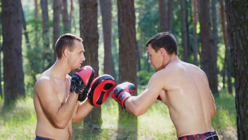 In Boxing Gloves, Young Athletic Video de stock (totalmente libre de  regalías) 30214549 | Shutterstock