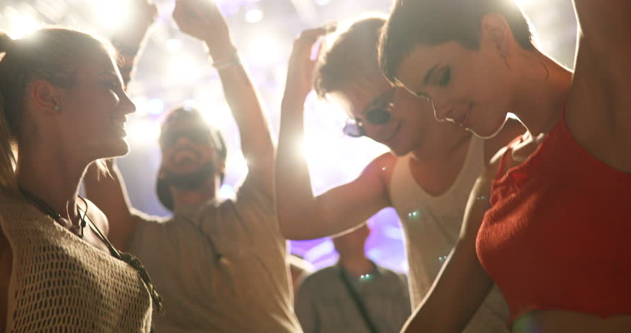 People clubbing and dancing at party   Shutterstock HD Video #30264289