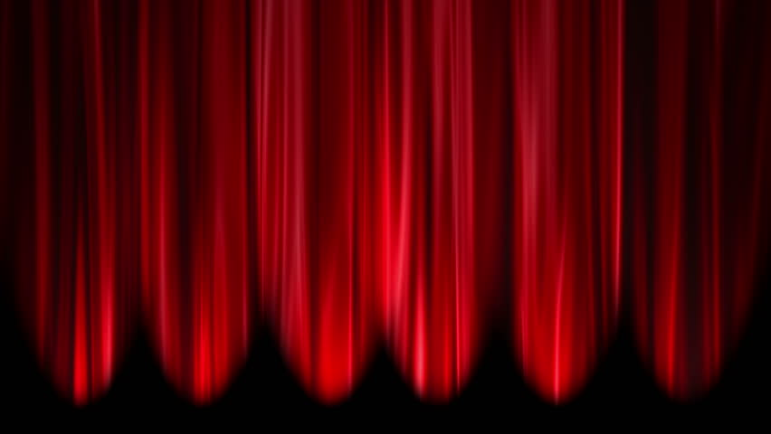 Red Curtains Open, White Background Stock Footage Video 3030199 |  Shutterstock