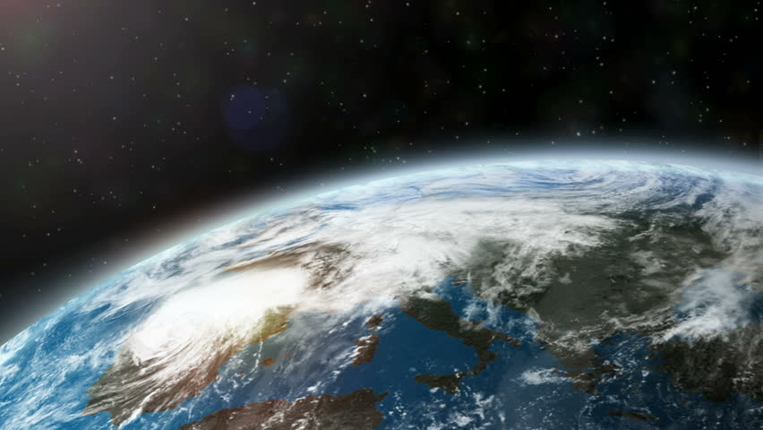 Earth from space view | Shutterstock HD Video #30370189