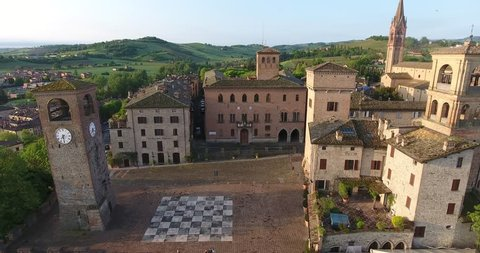 castelvetro shot with the drone modena