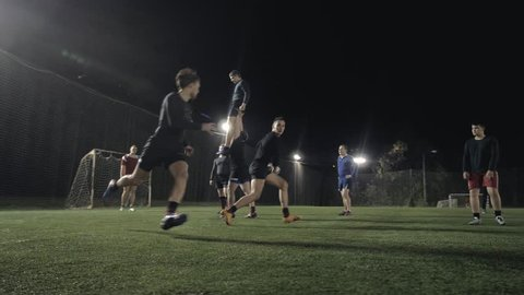 Athletes from Scotland training, professional rugby players train outdoor, power play mens