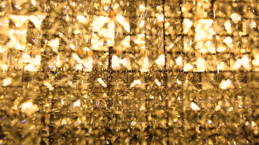Circular Crystal Chandelier Stock Footage Video 14153840 ...