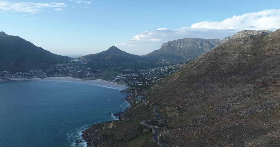 Cape Town Aerial View Towards Hout Bay | Shutterstock HD Video #30552289