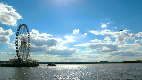 Washington D.C National Harbor - Ferris Wheel 02