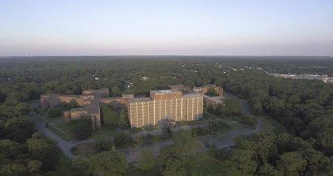 Large Building Aerial