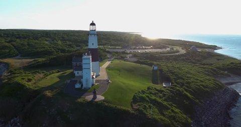 Montauk Lighthouse Aerial 05