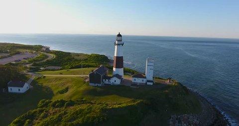 Montauk Lighthouse Aerial