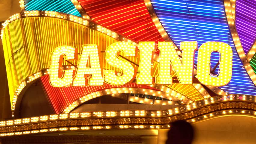 Casino LED light | Shutterstock HD Video #30743041