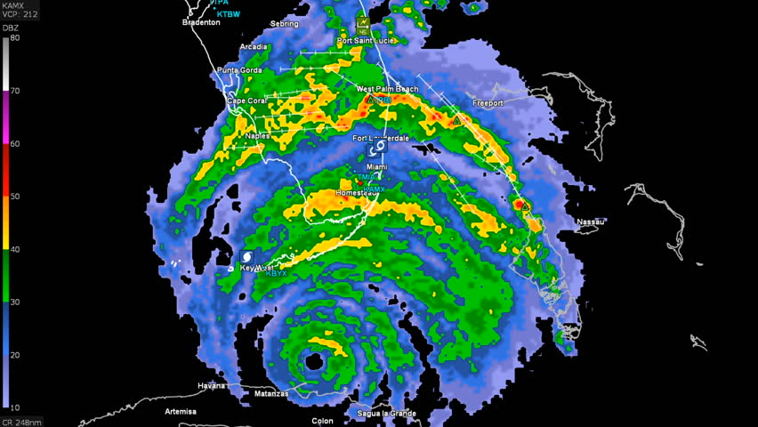 Us Doppler Weather Map florida united states september 2017