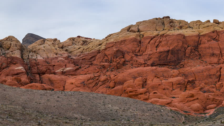 Red Rock Canyon National Conservation Area, Las Vegas, Nevada, Usa, America | Shutterstock HD Video #30964636