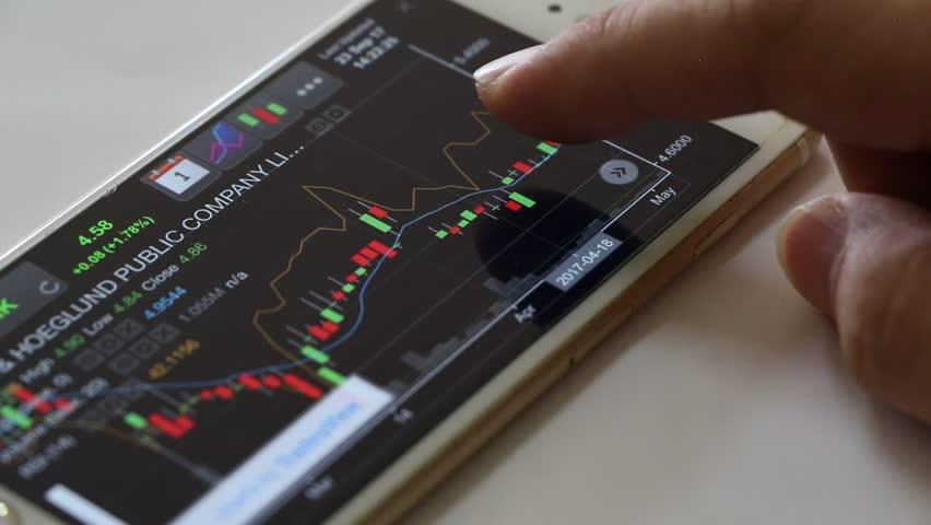 Stock exchange online trading. | Shutterstock HD Video #31028989