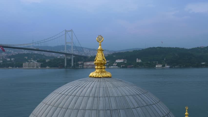 ortakoy mosque, sunrise, istanbul