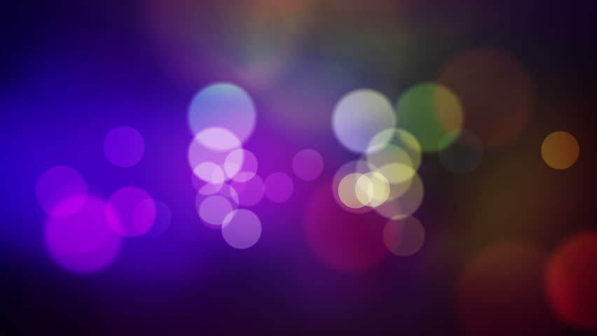 Animated screen saver of blue and purple with a flash and back focus | Shutterstock HD Video #3121039