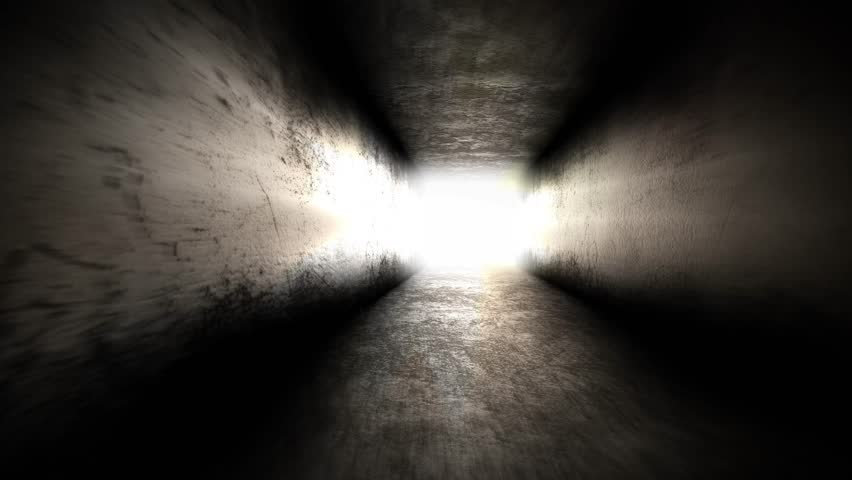 Light at the end of the tunnel. Going to Hope | Shutterstock HD Video #31297441