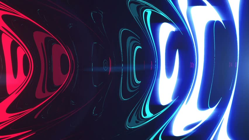 Tunnel Ripples - Professional VJ Background Loop. FULL HD 1080p | Shutterstock HD Video #31325599
