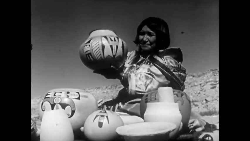 CIRCA 1950s - Footage of bountiful crops and animals being herded in New Mexico is augmented by diagrams explaining the prevalence of particular crops in areas during the 1950s.