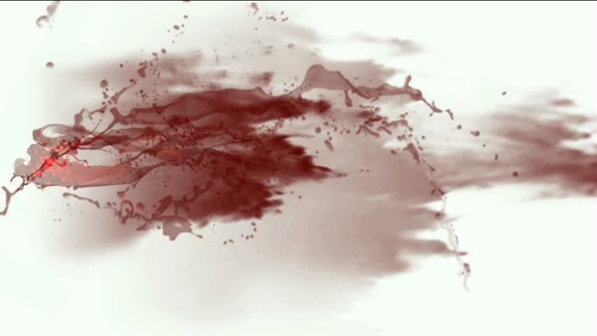 blood & plasma,splash red fluid,liquid & ink.