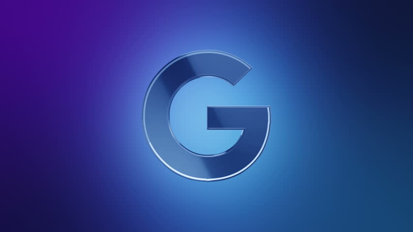 Editorial Animation 3d Rotation Of Symbol Of Google Google Plus