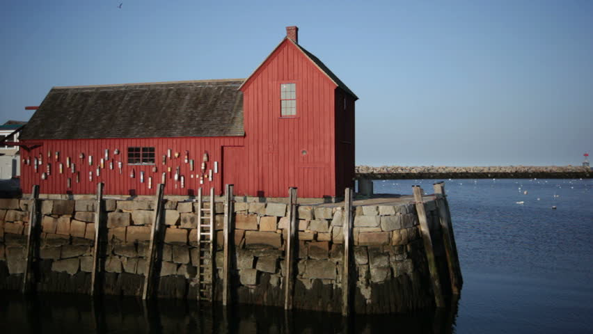 Motif #1 in Rockport from side medium shot