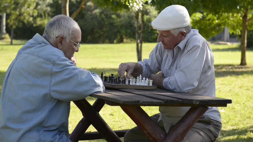 Active retired people, best friends and leisure, group of old men having fun and