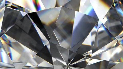 abstract Luxury diamond 4K loopable background