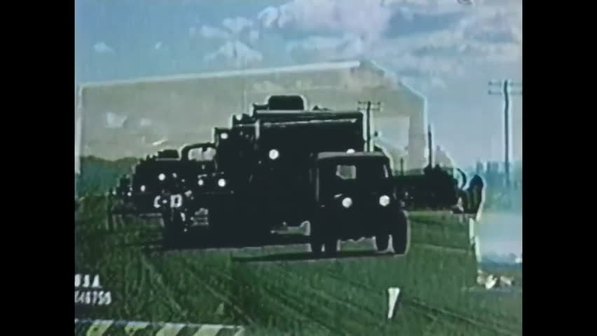 Circa 1950s - a Military Stock Footage Video (100% Royalty-free) 31696669 |  Shutterstock