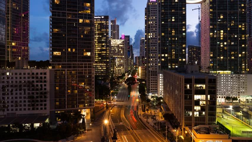 Brickell, Miami 4K time-lapse | Shutterstock HD Video #31698439