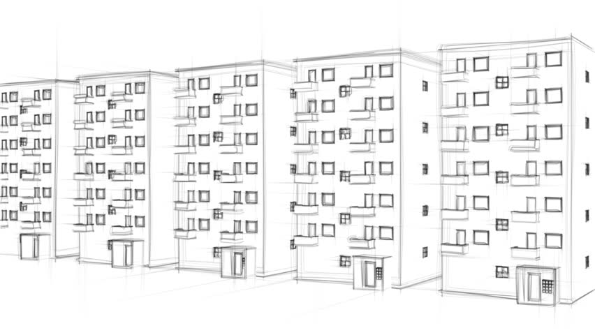 Image result for apartment drawing