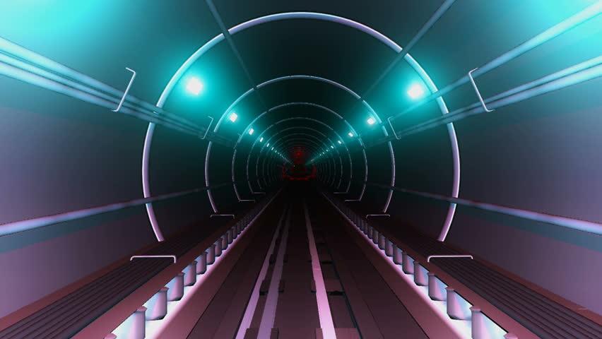 Subway tunnel | Shutterstock HD Video #3172549