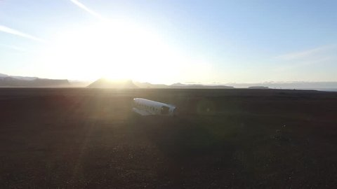 DC-3 Plane wreck in iceland